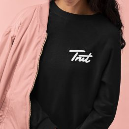 Trut Sweater Premium Black Chest