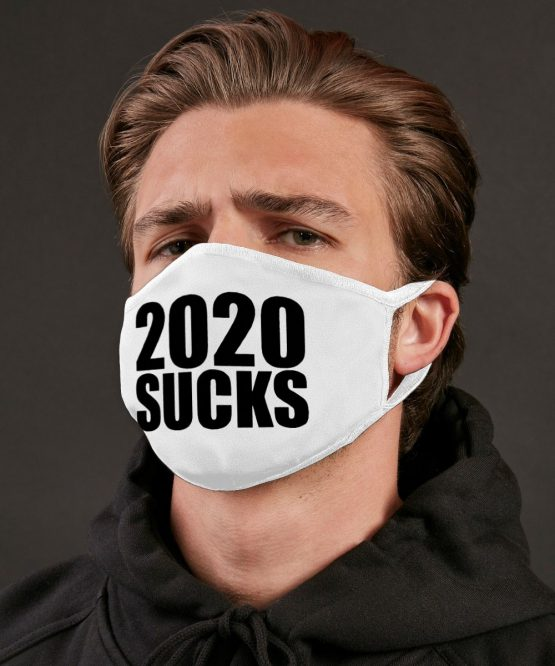 Wit mondkapje 2020 sucks