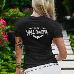 Happy Halloween T-Shirt Back