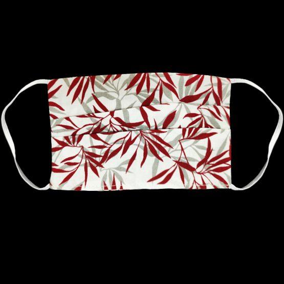Katoenen Mondkapje Red Bamboo Sfeerfoto