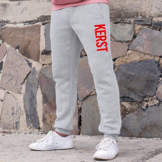 Kerst Joggingbroek Grey 2