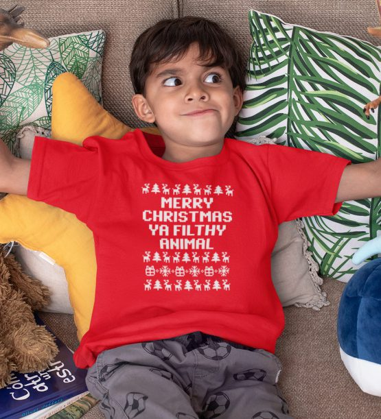 Kerst T-Shirt Filthy Animal Kind