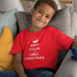 Kerst T-Shirt Keep Calm Kind