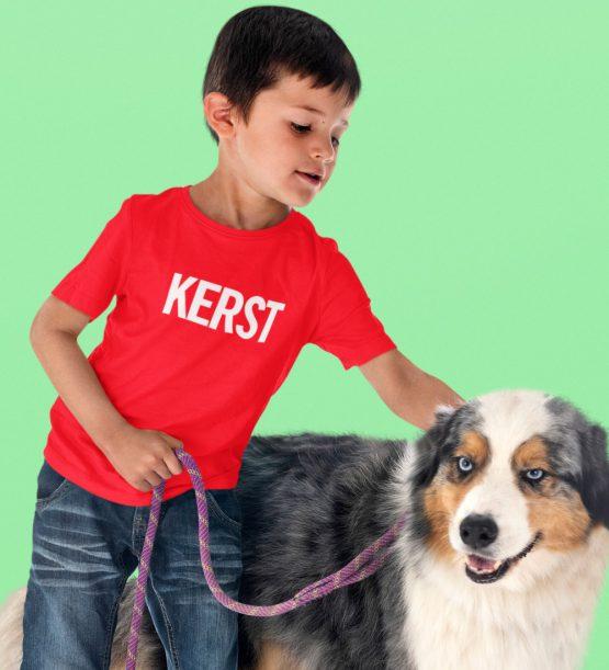 Kerst T-Shirt Kind