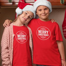 Kerst T-Shirt Merry Christmas Kind