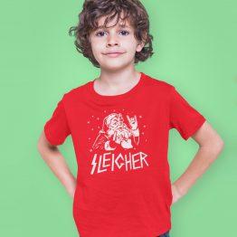 Kerst T-Shirt Sleigher Kind