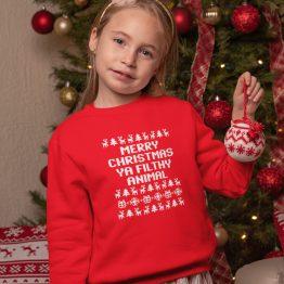 Foute Kersttrui Filthy Animal Kind
