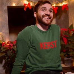Groene Kersttrui Premium Kerst