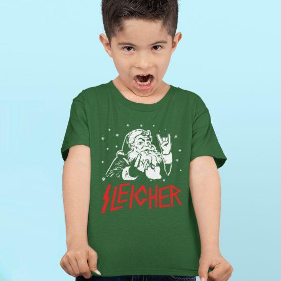 Kerst T-shirt Kind Premium Sleigher