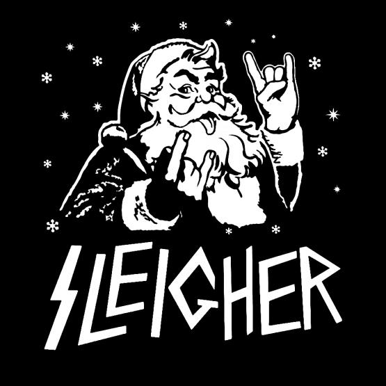 Kerstkleding Opdruk Sleigher