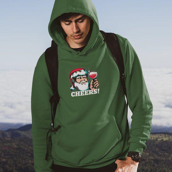 Foute Kerst Hoodie Groen Cheers