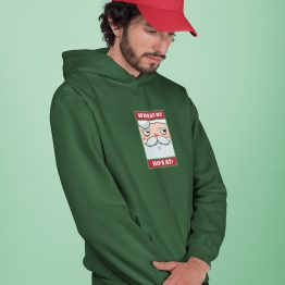 Foute Kerst Hoodie Groen Where My Ho's At