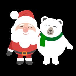 Foute Kerstkleding Santa & Bear 2