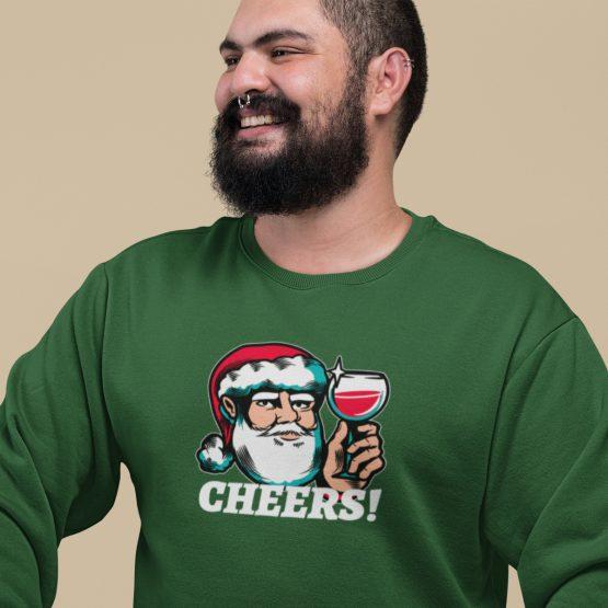 Foute Kersttrui Groen Cheers