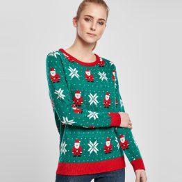 Foute Kersttrui Groen Kerstman