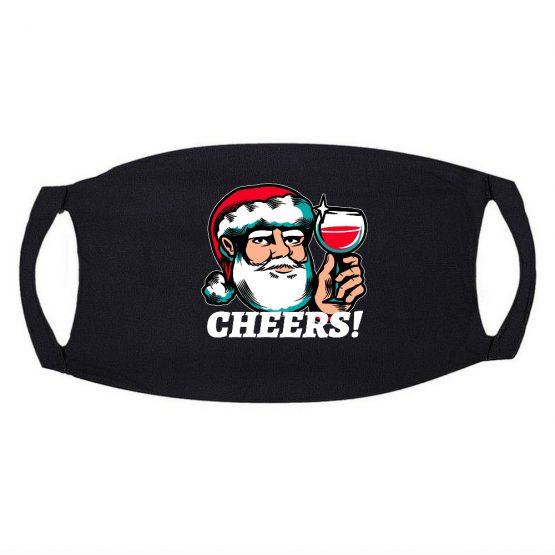 Kerst Mondkapje Cheers