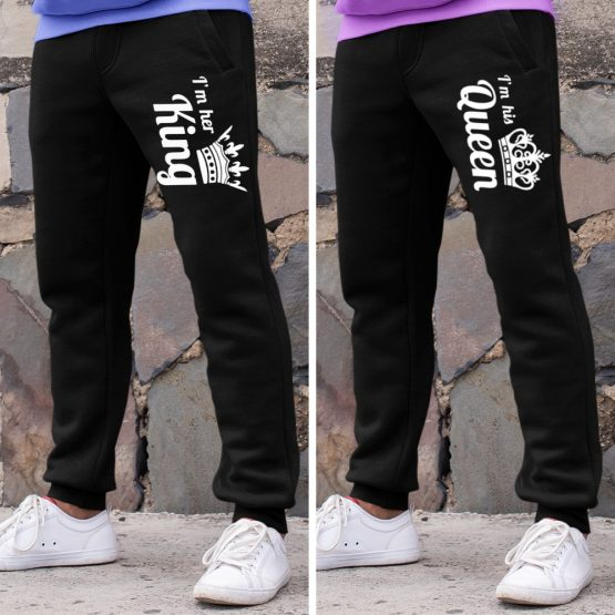 King Queen Joggingbroek His & Hers
