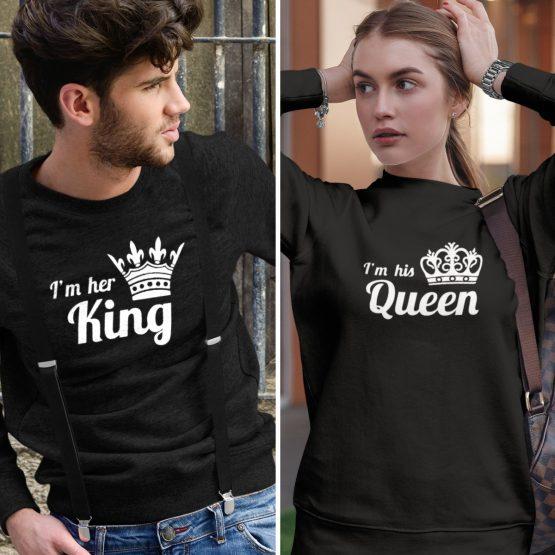 King Queen truien His & Hers