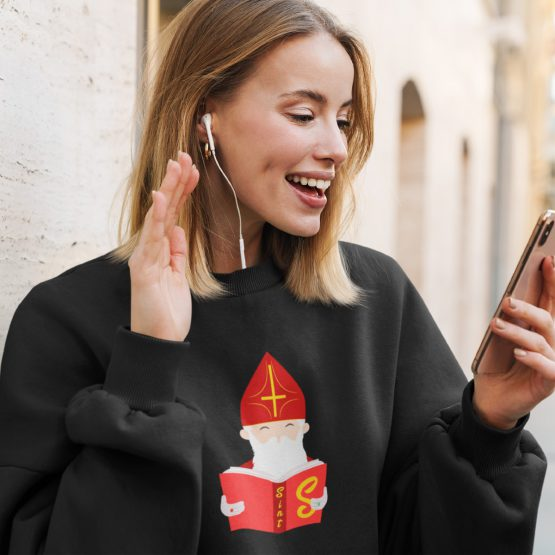 Sinterklaas Trui Zwart Boek van Sint