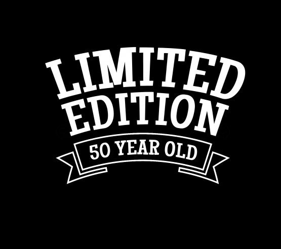 50 jaar kleding limited edition