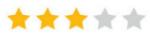 3 sterren rating