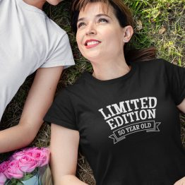T-Shirt 50 Jaar Dames Limited Edition
