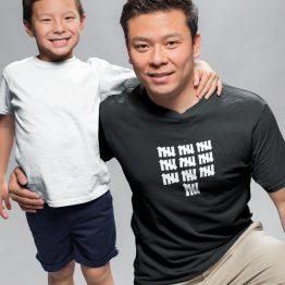 T-Shirt 50 Jaar Heren Turven