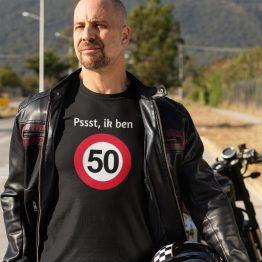 T-Shirt 50 Jaar Pssst