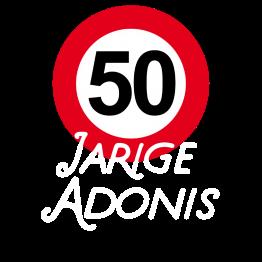 T-shirt 50 jaar Adonis