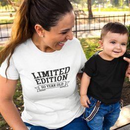 Wit T-Shirt 50 Jaar Dames Limited Edition