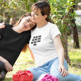 Wit T-Shirt 50 Jaar Dames Turven