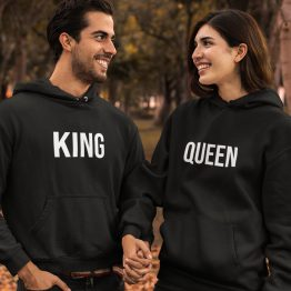 King & Queen Hoodies First