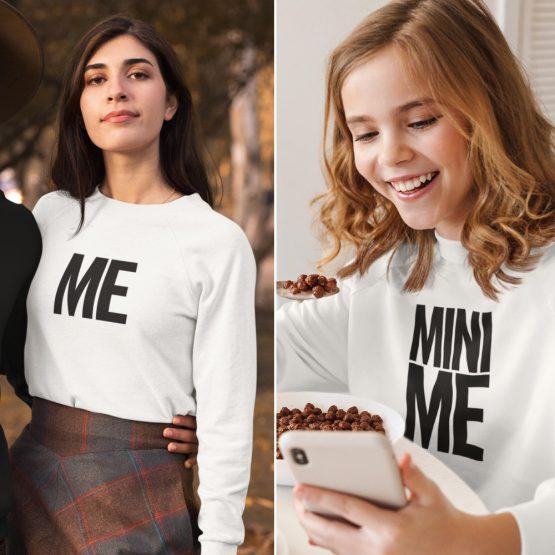 Moeder Dochter Sweaters Me & Mini Me Wit