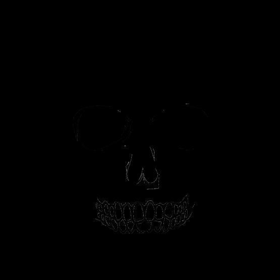 Skull Big Black