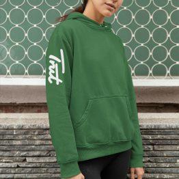 Trut Hoodie Sleeve Groen