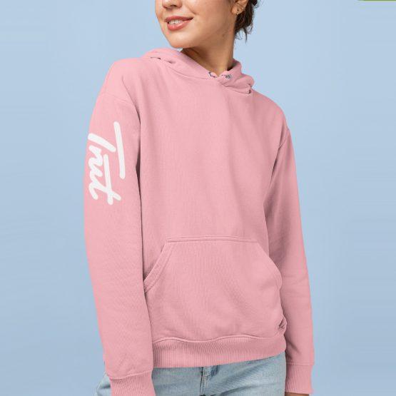 Trut Hoodie Sleeve Roze