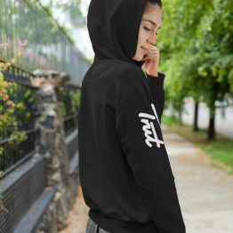 Trut Hoodie Sleeve Zwart