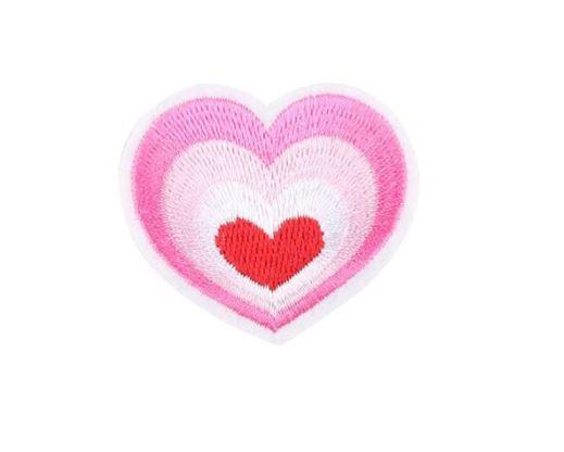 Hartje roze patch