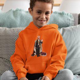 Koningsdag Hoodie Kind Willem Alex 2