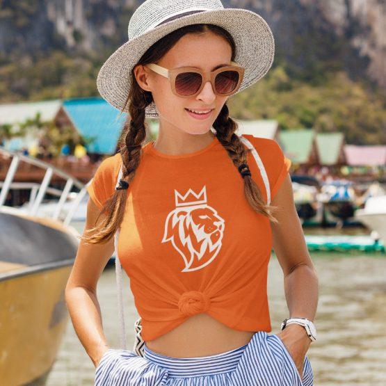 Koningsdag T-Shirt De Leeuw