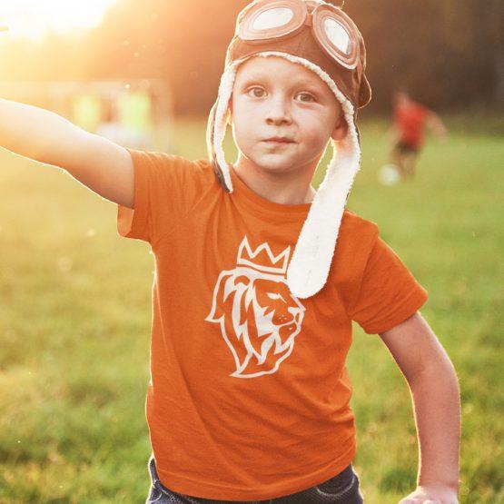 Koningsdag T-Shirt Kind De Leeuw 2