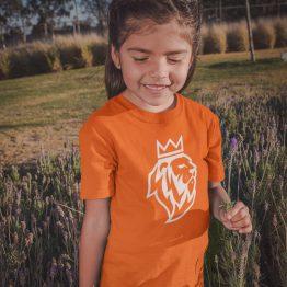 Koningsdag T-Shirt Kind De Leeuw