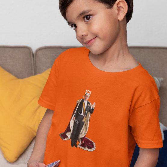 Koningsdag T-Shirt Kind Willem Alex