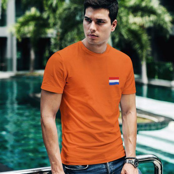 Koningsdag T-Shirt Vlag