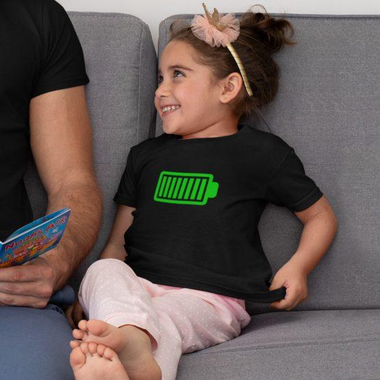 T-Shirt Kind Battery Full