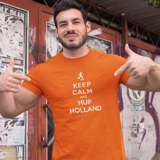 EK T-Shirt Keep Calm & Hup Holland