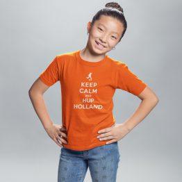 EK T-Shirt Kind Keep Calm & Hup Holland 2