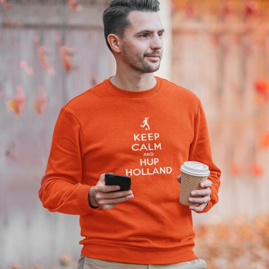 EK WK Trui Keep Calm And Hup Holland