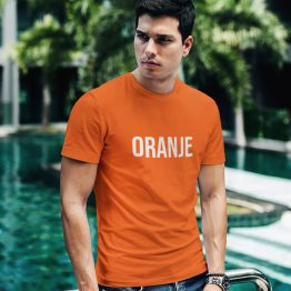 Koningsdag WK EK T-Shirt Oranje