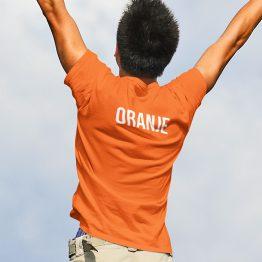 Koningsdag WK EK T-Shirt Oranje Back